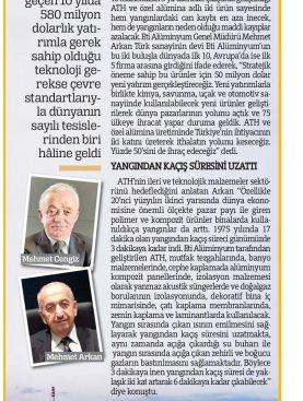580 Milyon Dolar Yatırımla Dünyada İlk 10'a Girdi- Türkiye Gazetesi 29.10.2017
